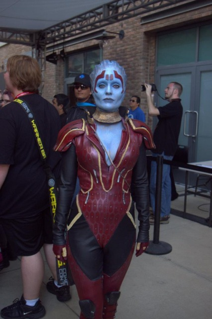 Samara's face model (Rana) cosplaying for charity