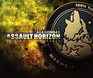 Ace Combat Assault Horizon OST Front Cover