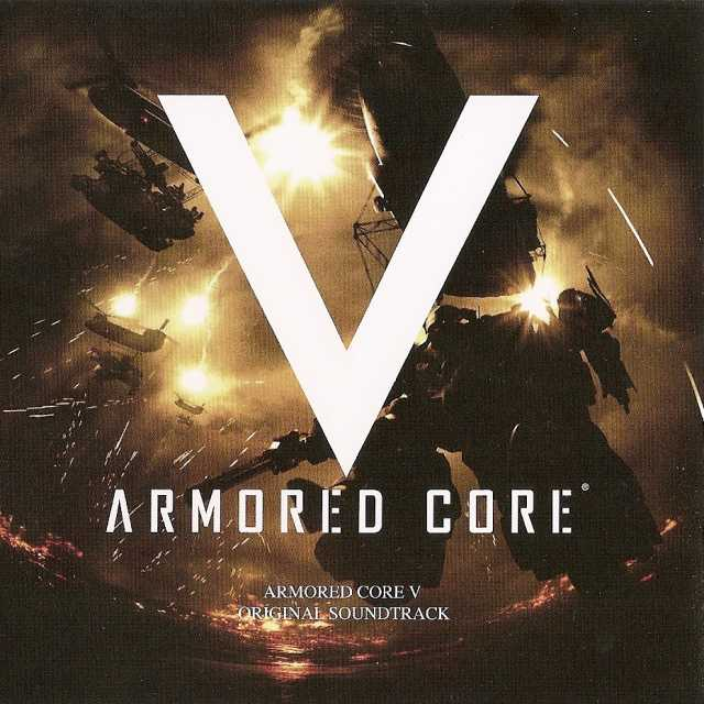 Armored Core V OST Front Cover