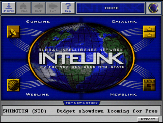 In Game PDA Interface.