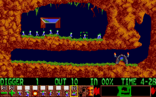 The first level - 'Just Dig'.
