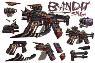 Bandit weapon concept art.