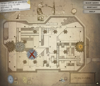 An example of a puzzle from BioShock Infinite: Industrial Revolution.