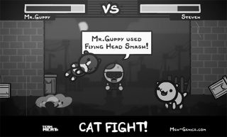 Mew-Genics originally featured Pokémon-inspired combat.