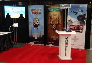 Renegade Kid's PAX East '13 booth.