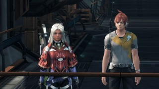 Elma (left) and the player character (right)