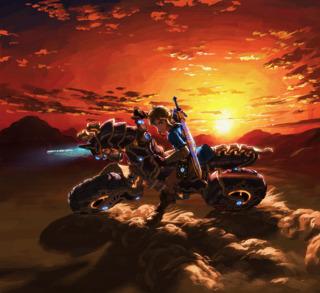 Vroom vroom, my motorcycle is a horse.