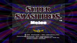 Super Smash Bros. Melee was the 2nd installment of the series for the Gamecube.