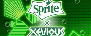 Sprite × Xevious