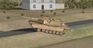 The USMC M1A1 Abrams