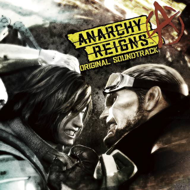 Anarchy Reigns OST cover.