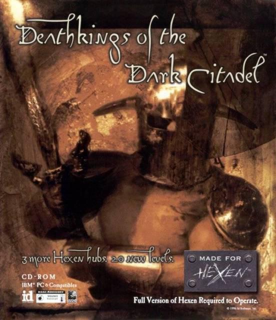 Box art for Deathkings of the Dark Citadel