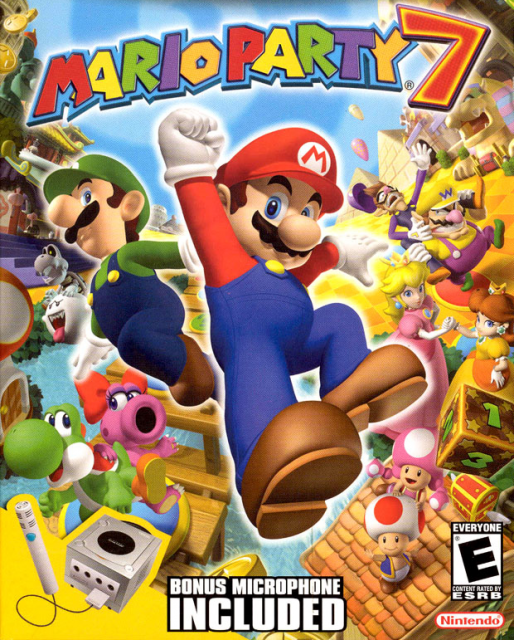 Mario Party 7 supports up to seven players
