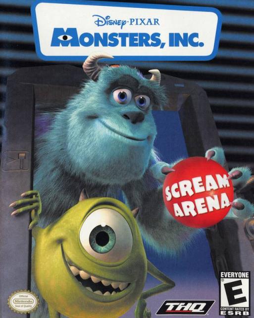 Monsters, Inc. Scream Arena