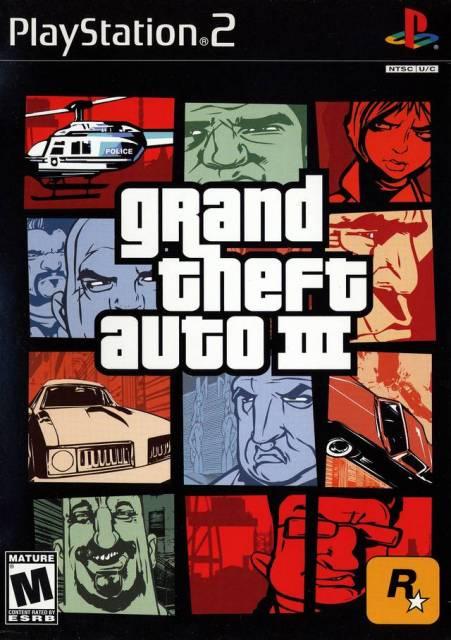 Grand Theft Auto III [PS2]