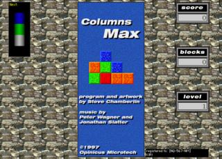 Columns Max