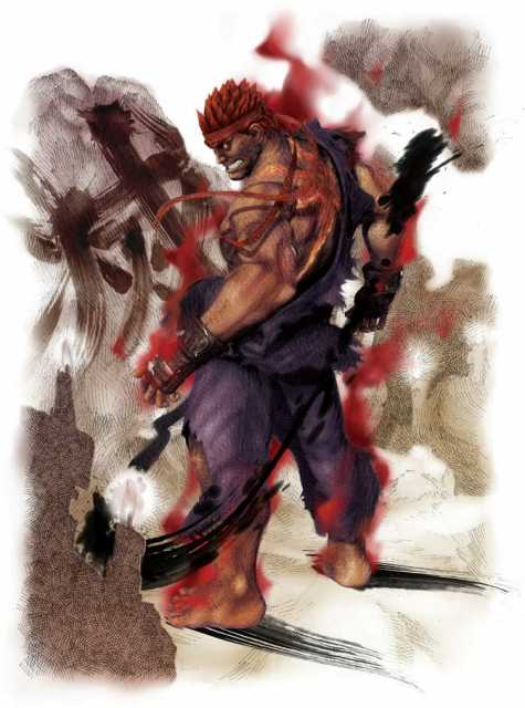 Hey guys. I don't know if you know this, but Evil Ryu is like Ryu. But evil.