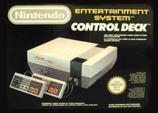 A boxed NES Control Deck.