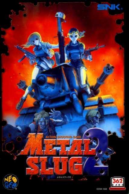 Metal Slug 2: Super Vehicle - 001/II