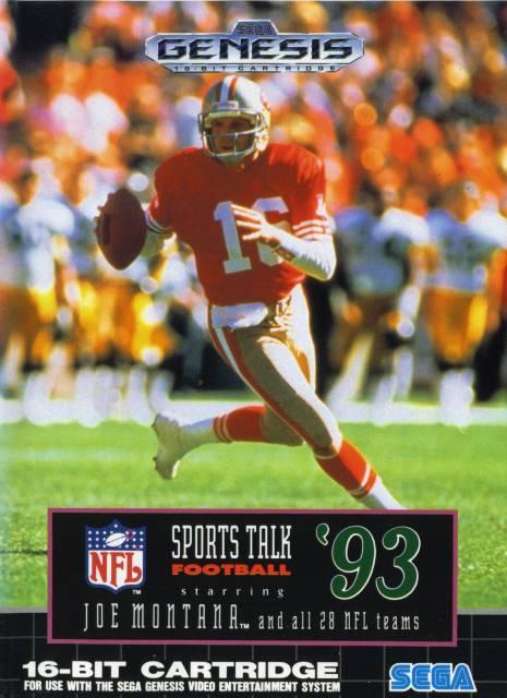 NFL Sports Talk Football '93 Starring Joe Montana
