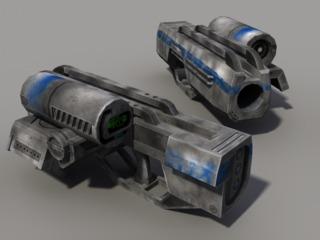 Man Portable Ion Cannon