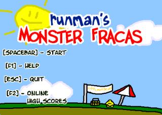 RunMan's Monster Fracas