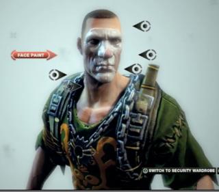 Character customization.