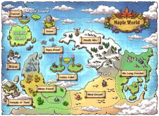 The Maple World, Ossyria's the Large Continent