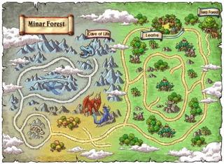 The Minar Forrest