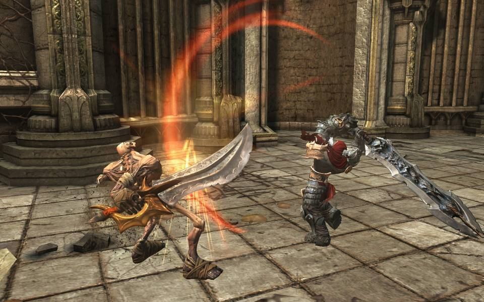 Darksider's dungeons feel like Zelda, its combat like Devil May Cry, and yet something all its own.
