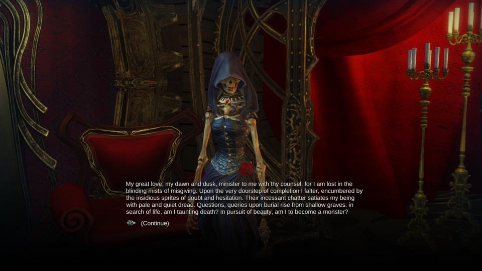 Dragon Commander had romanceable skeleton-people before it was cool!