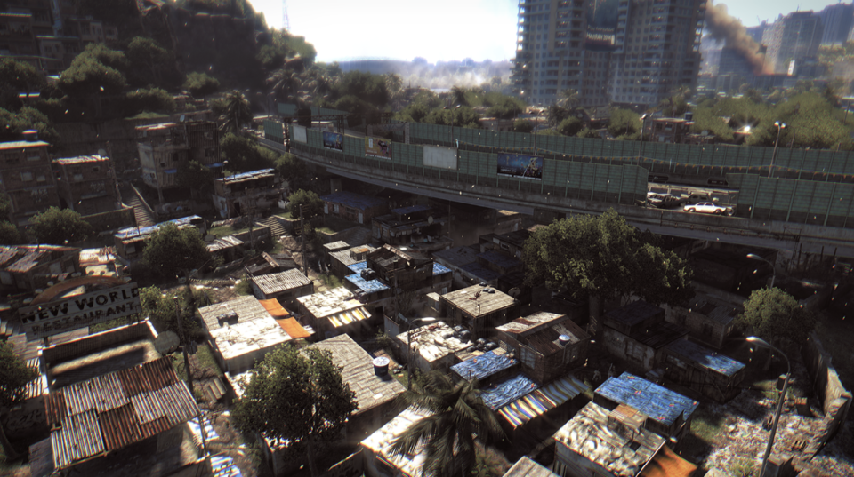 Harran is dense, with both buildings and zombies