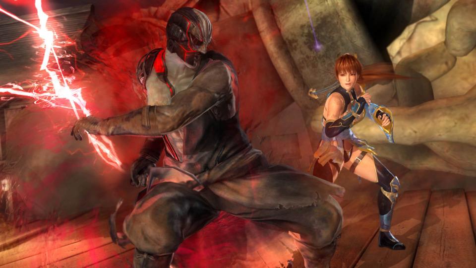 Raidou and Kasumi battle once more.