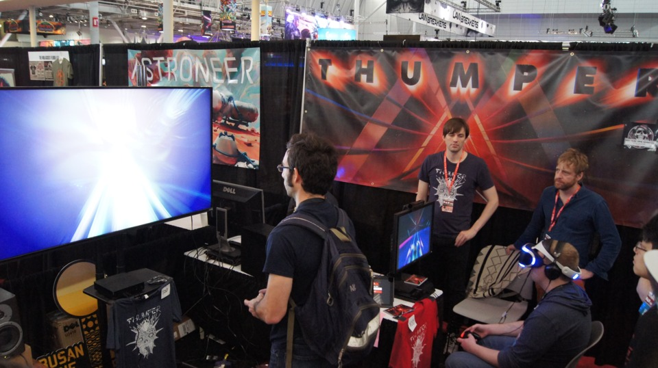 Thumper at PAX East 2016