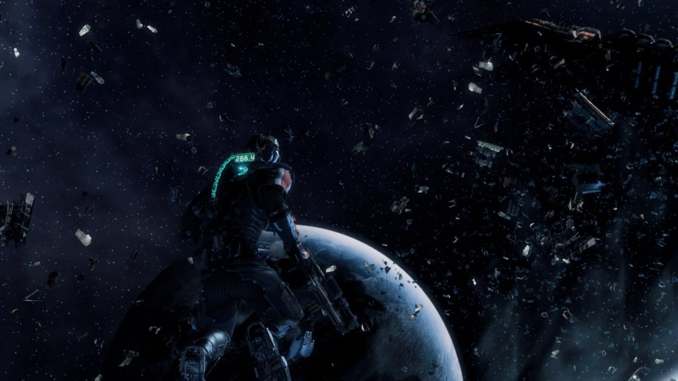 The times you get to explore in space make for some of the most memorable moments in Dead Space 3.