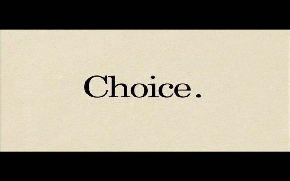 I like my choice medium rare, thanks.