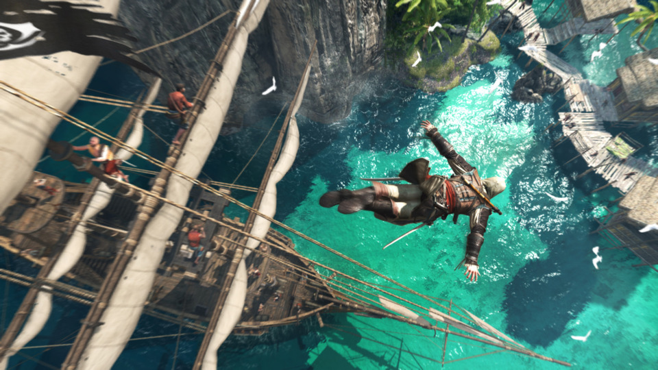 Assassin's Creed IV looks amazing on the PlayStation 4 hardware.