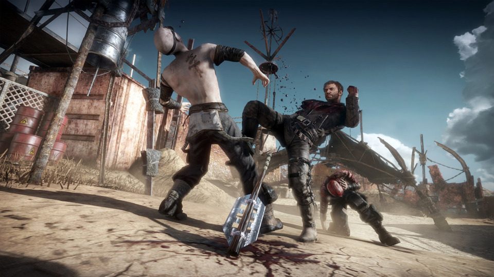 Like last year's Shadow of Mordor, Mad Max happily borrows numerous ideas from other open world games. Its combat system is pretty much identical to WB's Batman games, for instance.