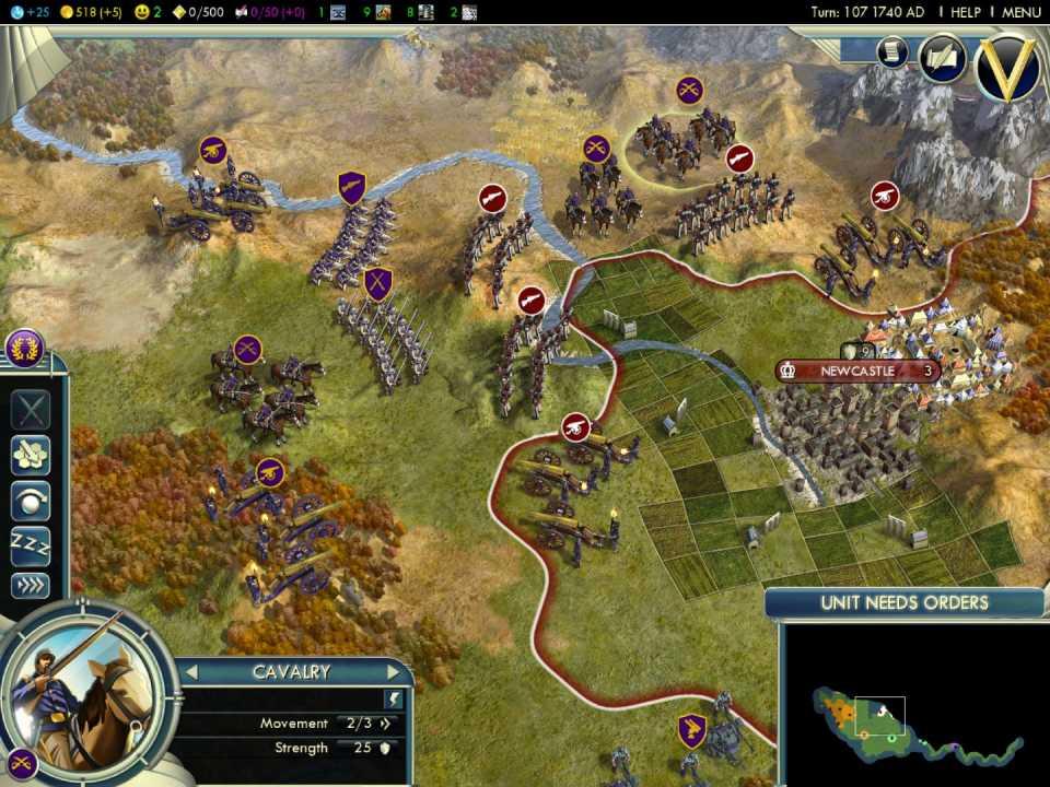 Sid Meier's Civilization V for the PC