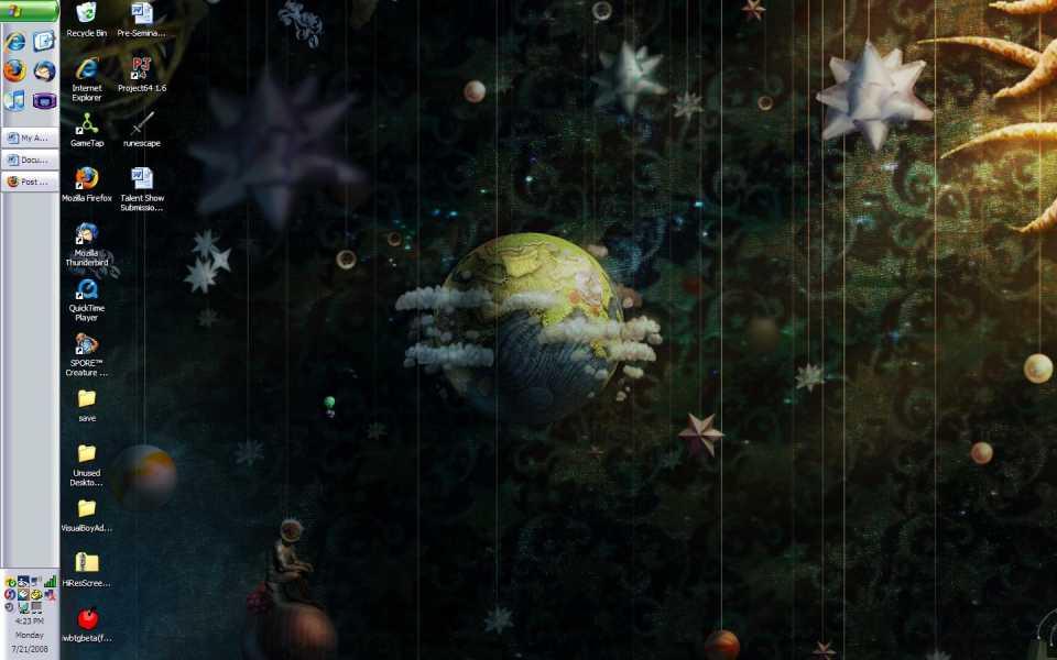 LittleBigPlanet background.