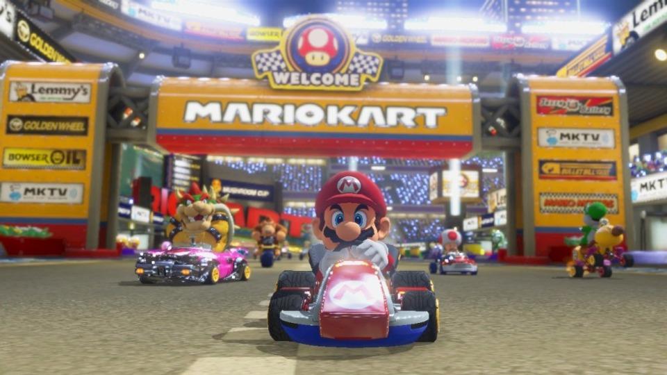 Do you like Mario Kart? Good. Here is some more Mario Kart.