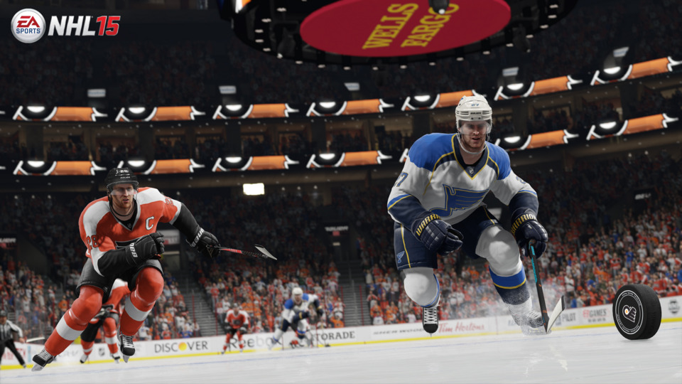 This is certainly an excellent looking hockey game, but not so excellent as to make you forget about all the missing features.