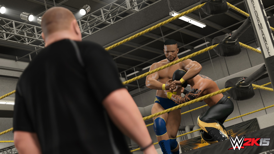 MyCareer attempts to create something similar to NBA 2K's MyPlayer mode for created wrestlers, but mostly it's just a slog to play through.