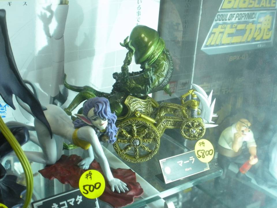 There were also Pixie and Ghoul statues, in case they were more up your alley or something.
