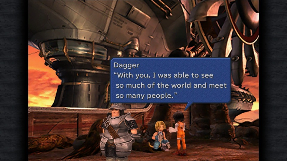 Let's give a round of applause to Steiner being a true gentleman in giving Garnet and Zidane some privacy.