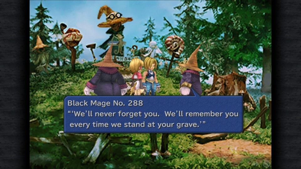 Well... now I look like an asshole for making fun of the Black Mages earlier.