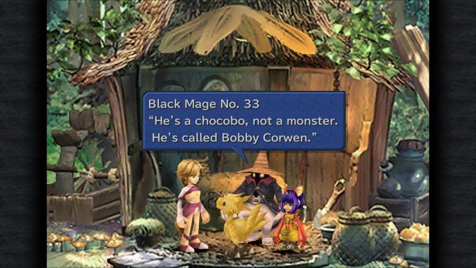 They made a funny in my JRPG!