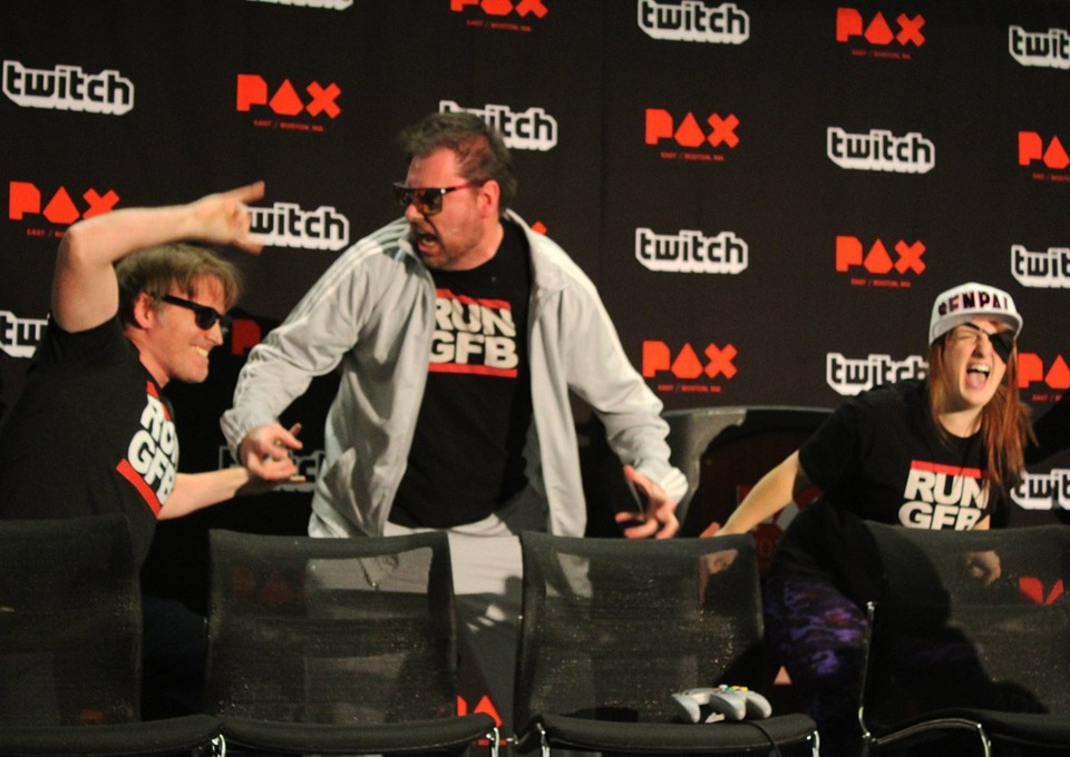 Shit got real at PAX East 2017 (Image provided by Marino)