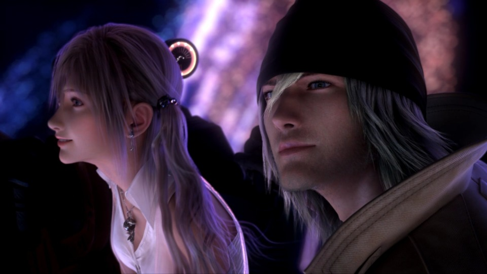 To everyone who made fun of me for liking the relationship in Final Fantasy VIII, I dare you to defend Snow and Serah's.