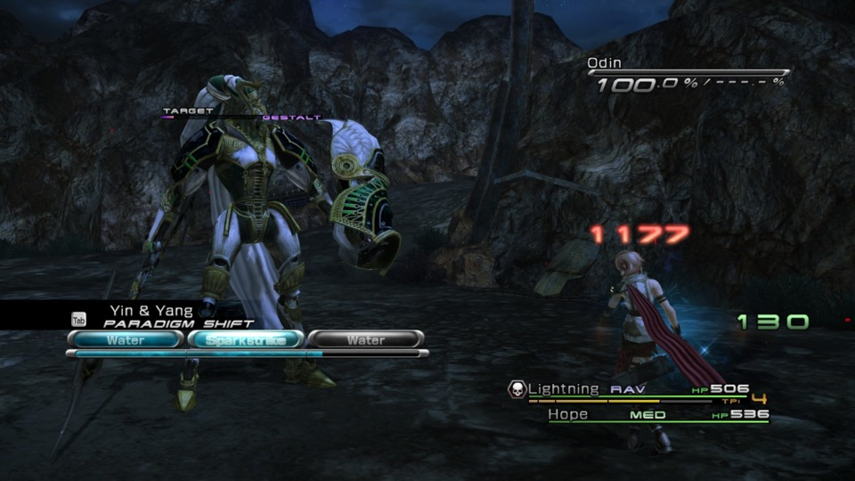 I want to mention there's a glitch in the PC port of FF13 where scanning Eidolons reveals nothing and you have to guess which attacks fill their meter.